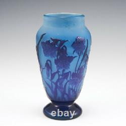 A D'Argental Cameo Glass Vase c1920