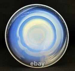 ART DECO SEVRES FRENCH OPALINE GLASS VASE / LAMP c1930's