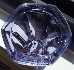Alexandrite Vase Amethyst Neodymium Dichroic Lead Crystal Bohemian Moser