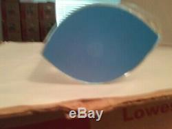 BACCARAT WAVE Vase 9 Blue Tint