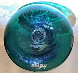 Blenko Huge Experimental Floor Vase
