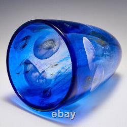 Blue Jellyfish Vase by Siddy Langley