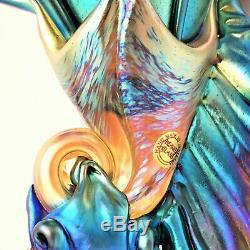 Colin Heaney Art Glass Vase