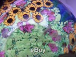 Gorgeous Chris Heilman Blue Wisteria Vessel Vase 2014 Mint One of a Kind