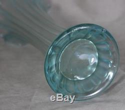 Ice Blue Northwood Thin Rib Vase