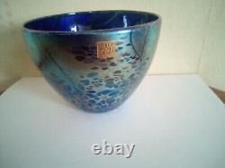 Isle of Wight Glass vase Michael Harris interest