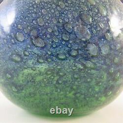 LABELLED Randsfjord Norwegian Glass Vase by Benny Motzfeldt