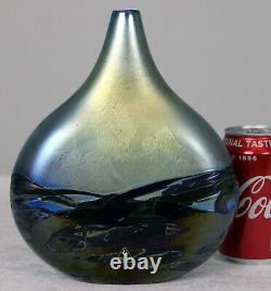Lovely Isle of Wight Studio Lolipop vase in Nightscape Design IOW FREEPOST