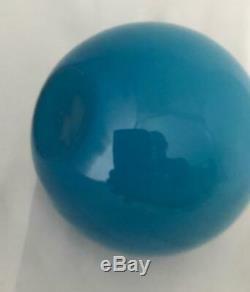 MCM HOLMEGAARD CARNABY BLUE BALL'KUGLE' VASE13cm SIZE