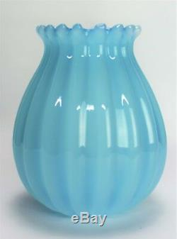 Murano glass vase 1950's Signed Moretti