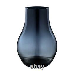 NEW Georg Jensen Cafu Vase Glass Small Blue