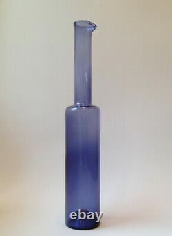 Nanny Still Bottle Vase Mid Century Riihimaen Lasi Oy Nanny Still Finland! (6)