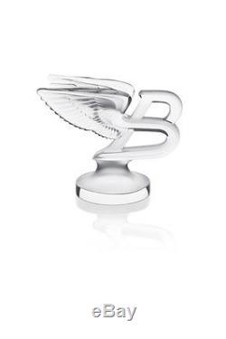 New Lalique Flying B Bnib #10335600 Limited Edition French Crystal Bentley F/sh