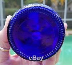 Nice Lot 100 Cobalt Blue Glass Beer Bottles For Vases Bottle Trees Crafts Herbs