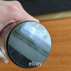 Nuutajärvi Kaj Franck KF 260 Vintage Blue Art Glass Vase 1964 Signed Finland