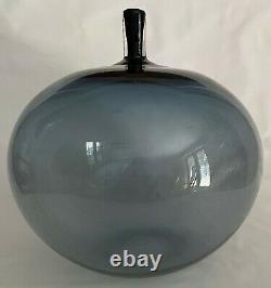 Orrefors Ingeborg Lundin APPLE Glass Vase 1957