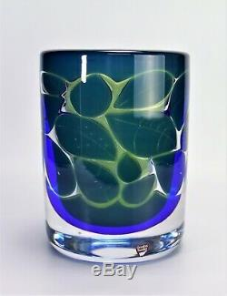 Orrefors vase Astrakan by Olle Alberius