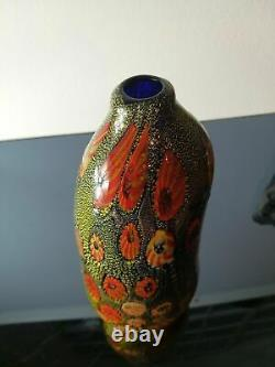 Rare Aldo Nason'Yokohama' Vase made by A. VE. M around 1960