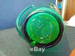 Rare Blenko Glass Cat Vase By Wayne Husted