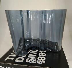 Rare Discontinued iittala alvar aalto 120mm Vase Maljakko Collectors Piece Boxed
