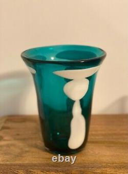 Rare Murano Glass Fulvio Bianconi Macchie Vase