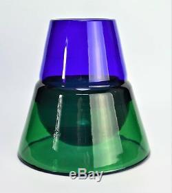 Signed Murano art glass object Italy Effetre International 1991