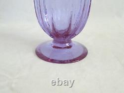 Steuben Wisteria Art Glass Footed Vase #7331