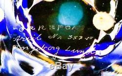 Vase Ingeborg Lundin Orrefors Ariel 357-F